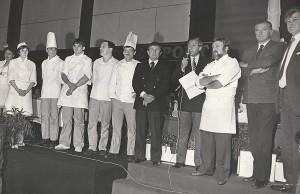 Michel Hidalgo, Michel Guérard et André Daguin - Membres du jury