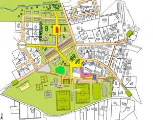 le projet d'éco bourg du Pian Médoc